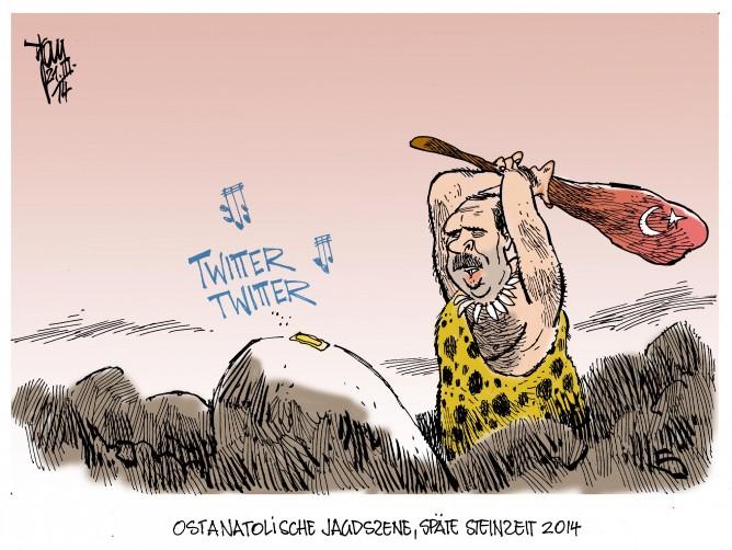 Twitterverbot in der Türkei, Erdogan
