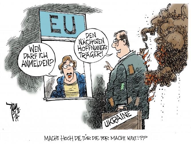 EU-Ukraine-Pakt,Krim-Krise