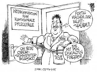 Ver.di- Forderung, Streiks im öffentlichen Dienst