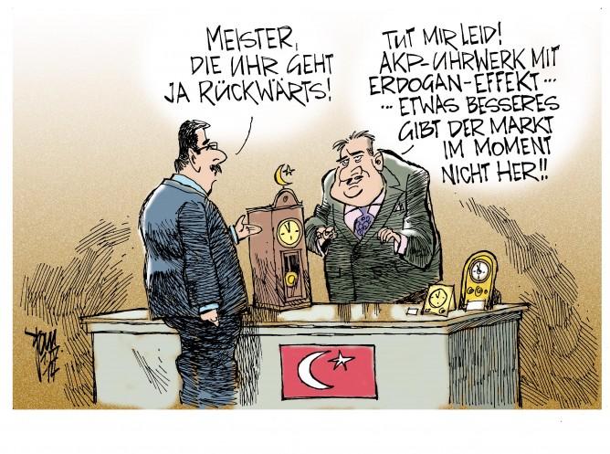 Kommunalwahlen in der Türkei: Erdogan und die AKP machen das Rennen. Der türkischen Gesellschaft stehen harte Zeiten bevor