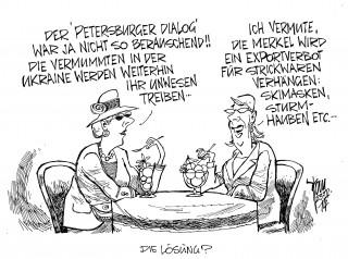 Petersburger Dialog, Ukraine-Konflikt, Russland