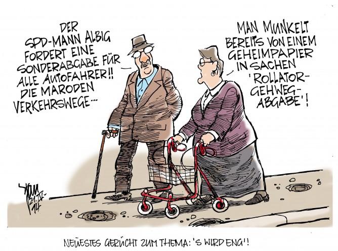 Sonderabgabe für Autofahrer, SPD, Ministerpräsident Torsten Albig
