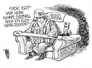 Ukraine-Krise: Der Kremel verlangt eine Garantie für die Neutralität der Ukraine.Putin, Nato.