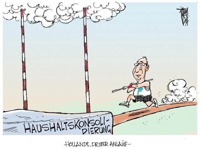 Frankreichs Haushaltsdefizit, Hollande, französische Sozialisten