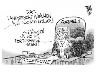 Ecclestone-Prozess 14-08-05