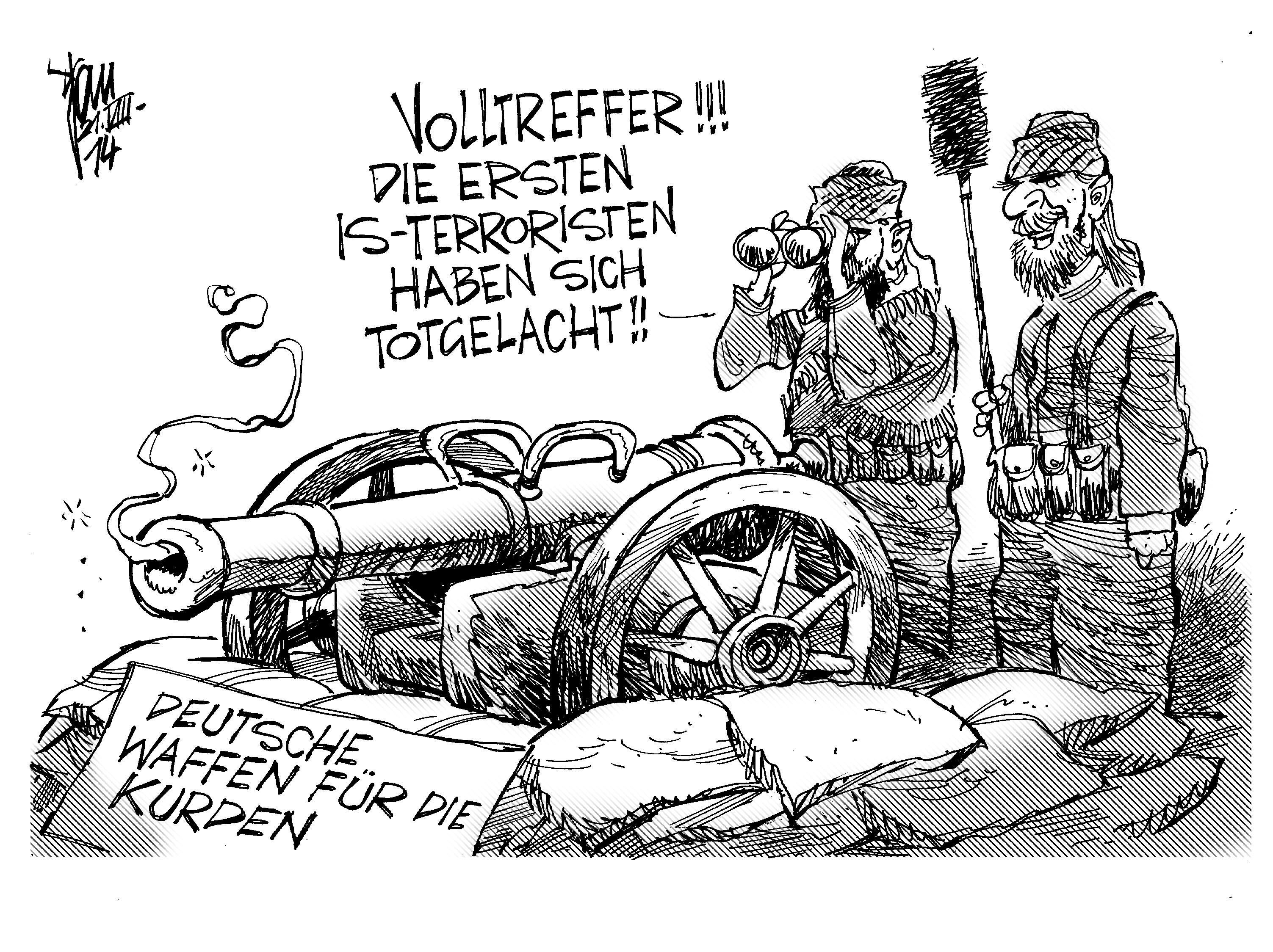 Waffenlieferung Kurden
