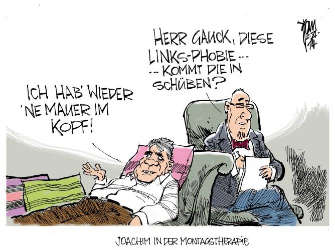 Gauck hadert mit Linken 14-11-02 rgb