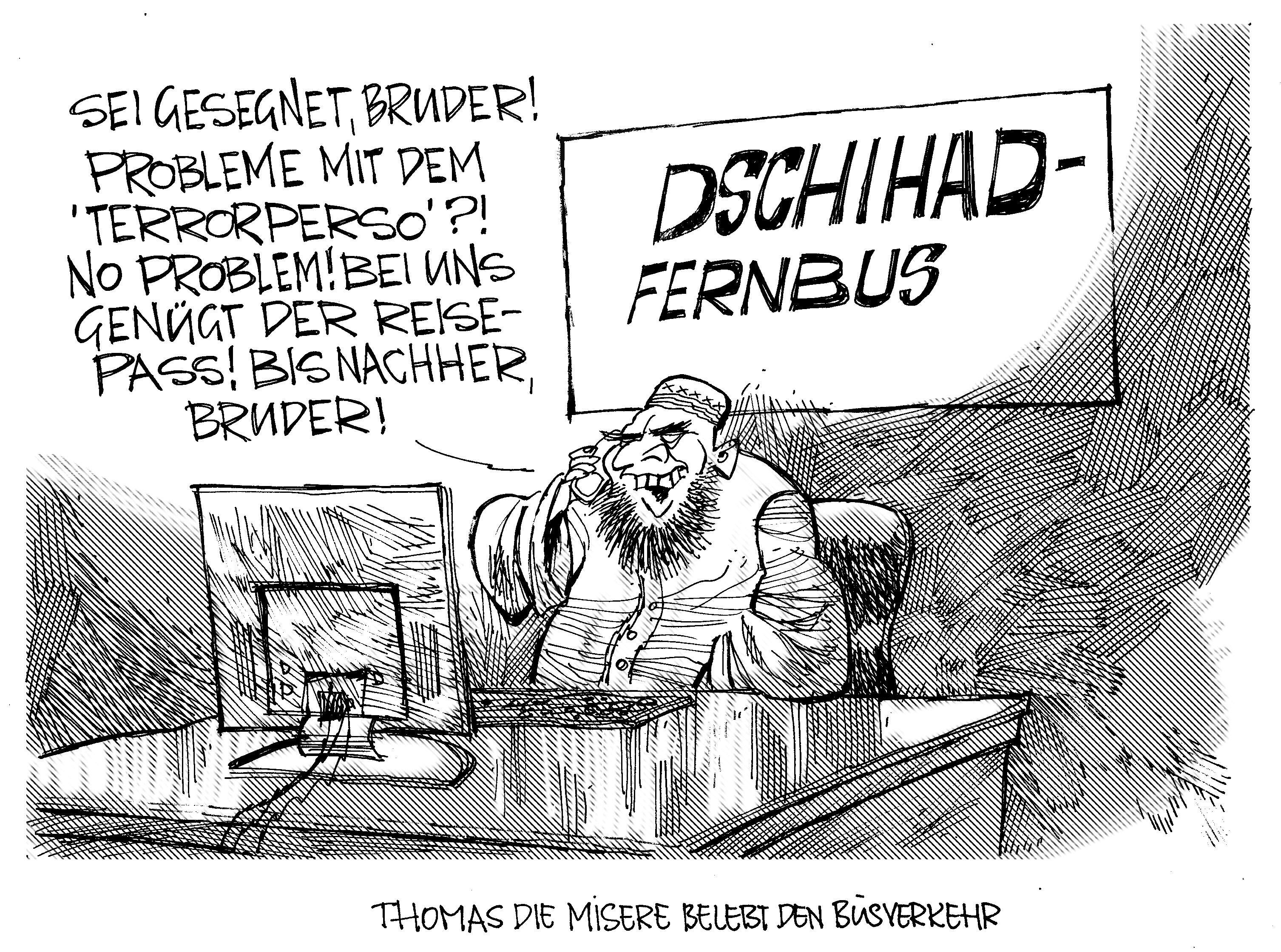 Karikaturen Islam