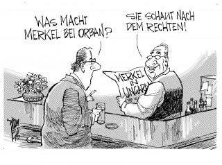 Merkel in Ungarn 15-01-02