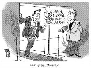 Tsipras in Berlin 15-03-22