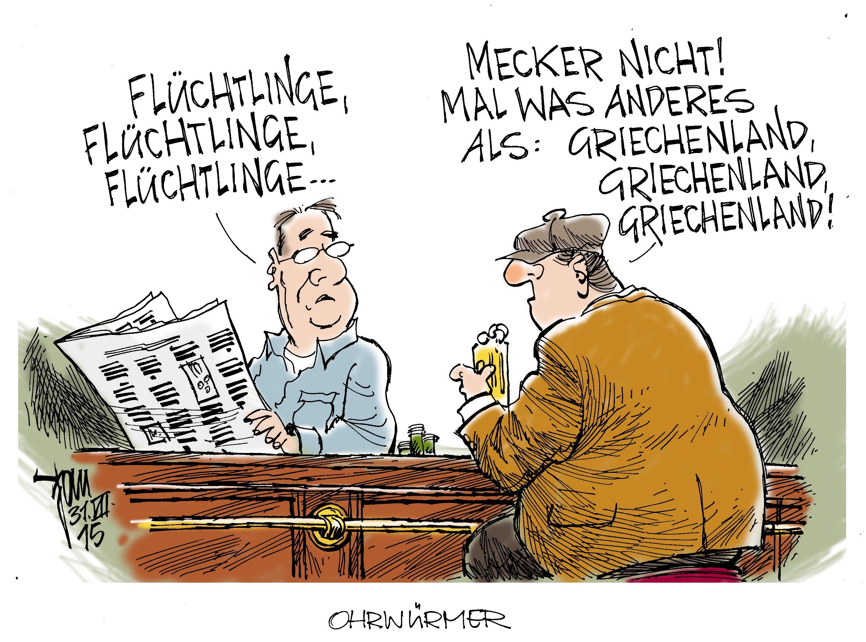 Wirtschaftsflüchtlinge Archives - Janson-Karikatur