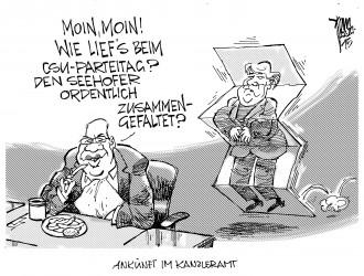 CSU-Affront gegen Merkel 15-11-22