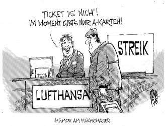 Lufthansa-Streik 15-11-06