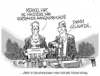 Merkel schenkt Vertrauen 15-11-09