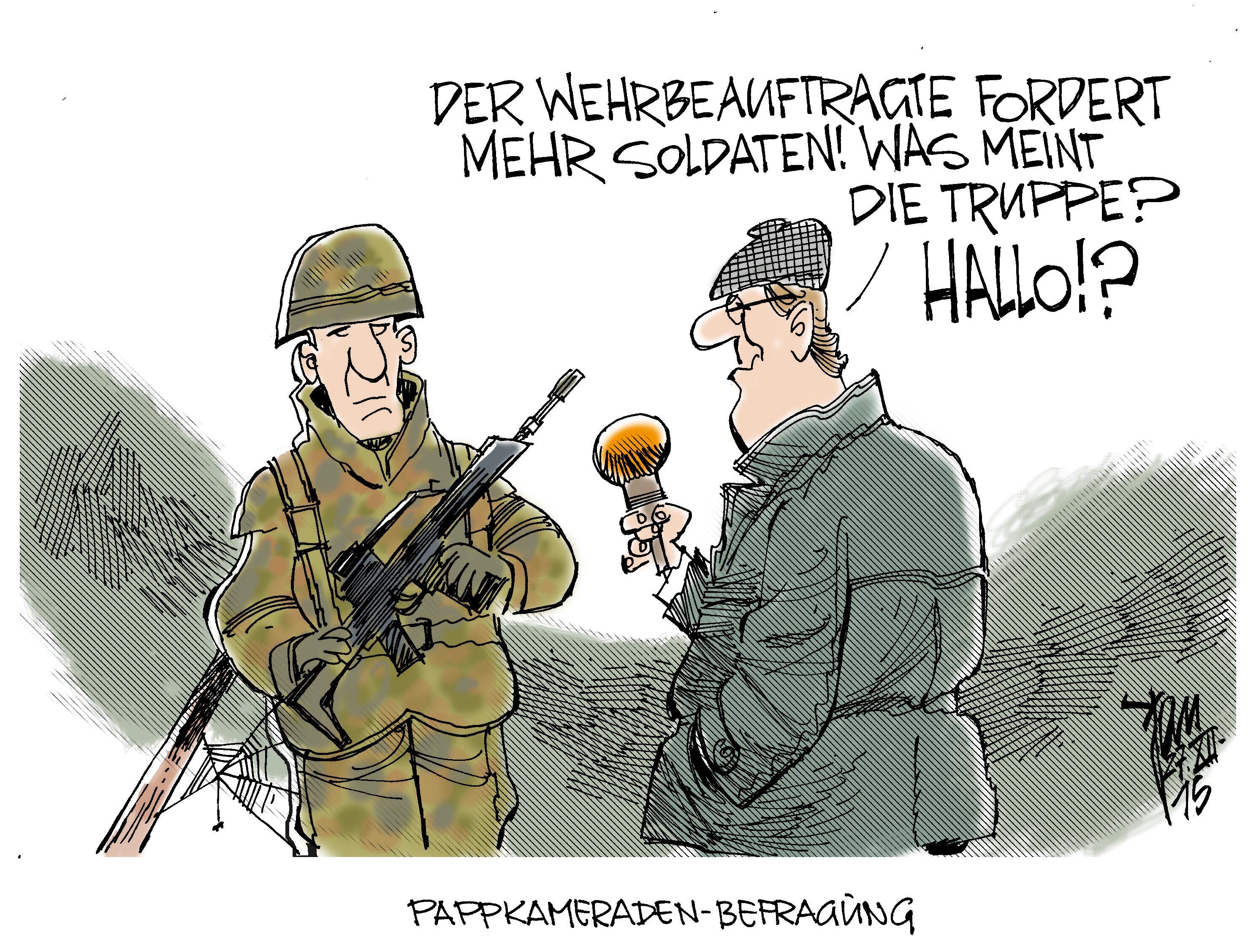 Bundeswehr Cartoon
