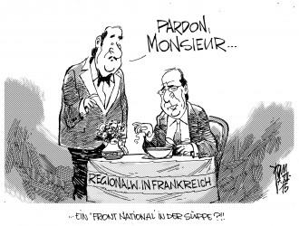 Wahlen in Frankreich 15-12-07