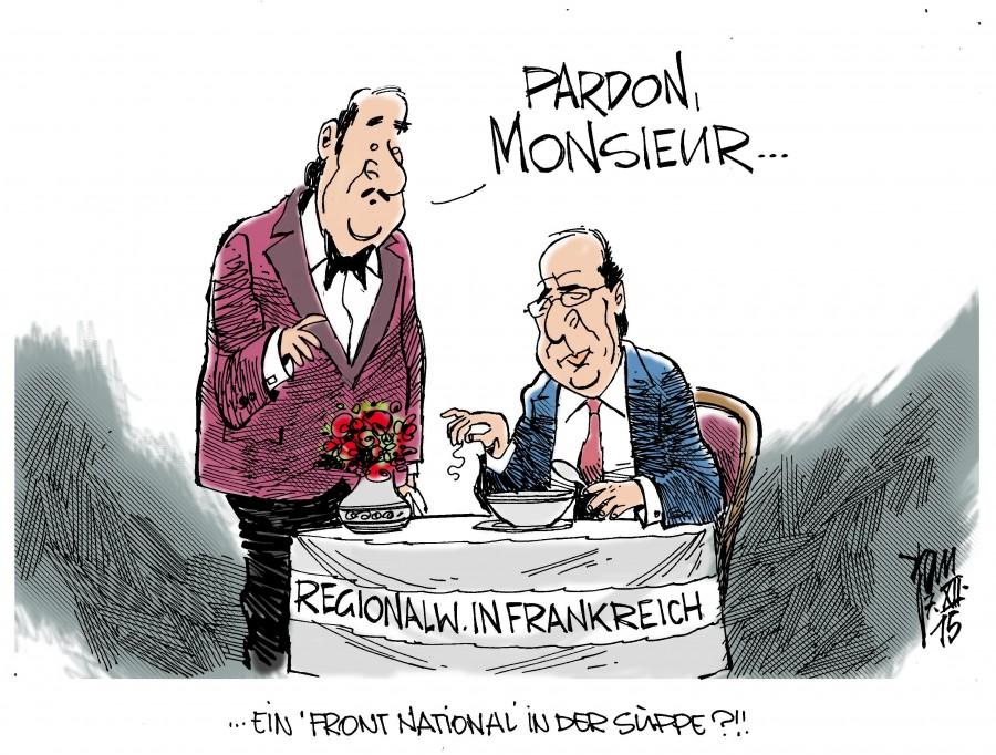 Wahlen Frankreich 2021