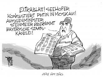 Seehofer in Russland 16-02-03
