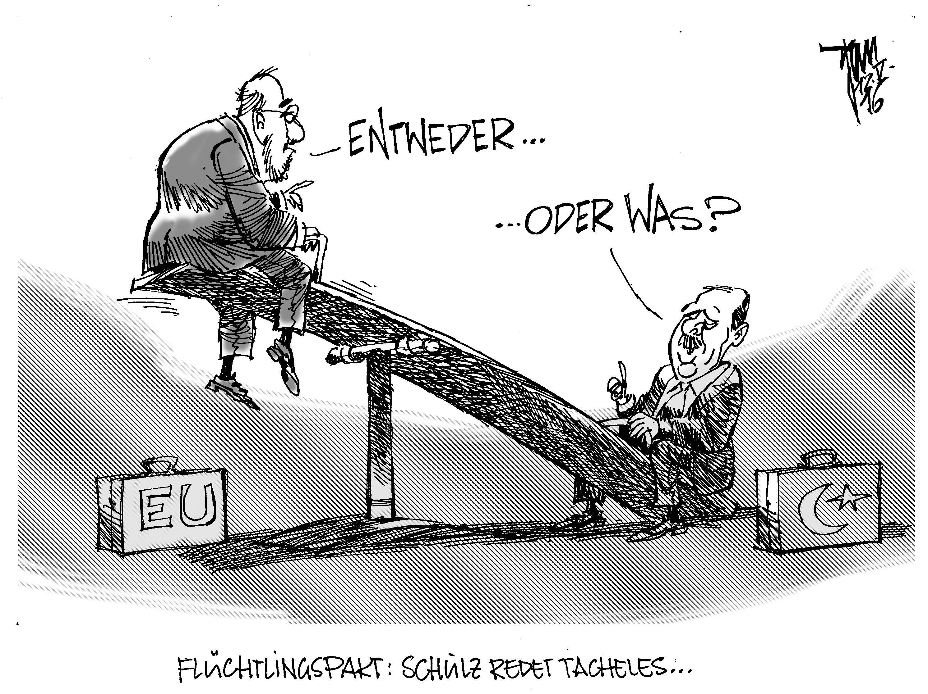 Eu Türkei Karikatur