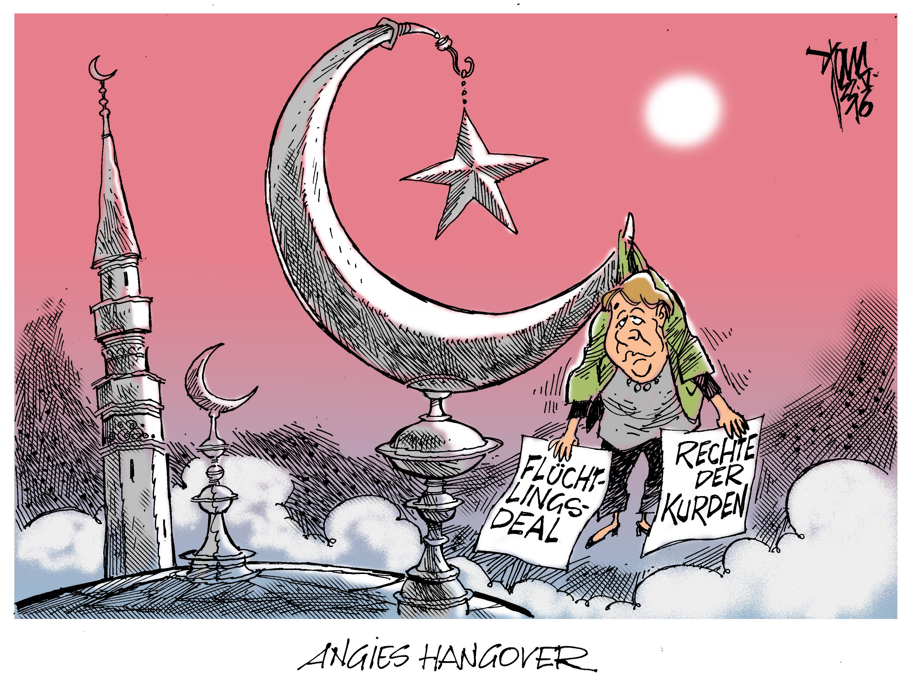 karikaturen erdogan