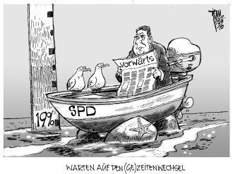 SPD-Umfragewerte 16-05-18