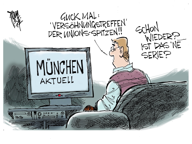 -Janson-Karikatur-aktuelle politische Karikaturen, Cartoons