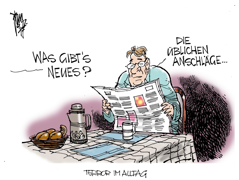 IS-Terror Archives - Janson-Karikatur
